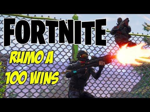 Fortnite - RUMO A 100 WINS