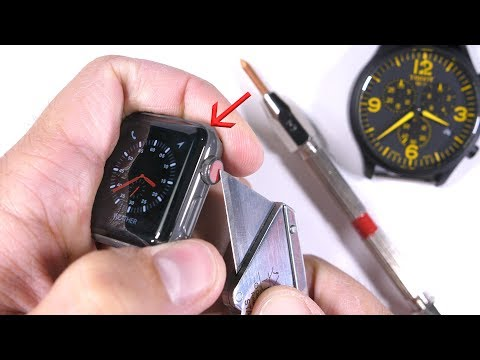 Thumbnail: Scratching the $1300 dollar Apple Watch - is it really 'Sapphire'?