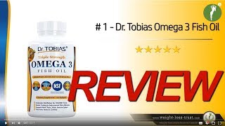 Doctor Tobias Omega 3 Fish Oil Review
