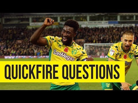 Quickfire Questions With Alex Tettey