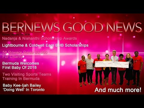 "Bernews ""Good News"" Sunday Spotlight, January 7, 2018"