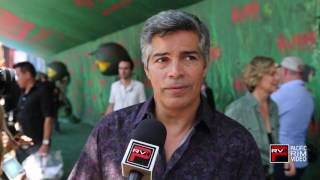 Esai Morales excited to share the Kubo & The Two Strings experience with family