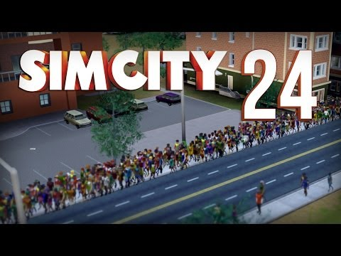 Let's Play SimCity - Part 24 - Public Transportation Madness ★ SimCity Gameplay Playthrough