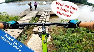 Super ride in Arad pe un MTB ieftin - Cannondale Trail 7