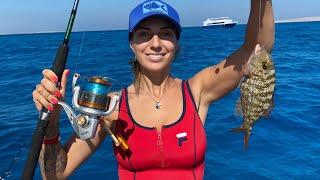 Рыбалка в Красном море