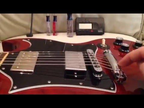sg guitars quick setup specs youtube. Black Bedroom Furniture Sets. Home Design Ideas