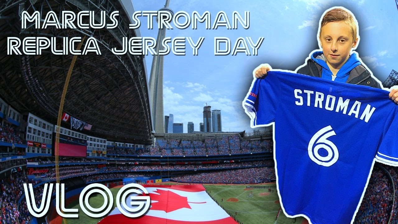 brand new baf53 22c40 Marcus Stroman Replica Jersey Day | Toronto Blue Jays vs Tampa Bay Rays |  April 30 2017