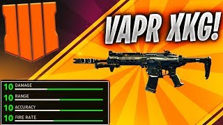 "*NEW* BEST ""VAPR"" CLASS SETUP COD BLACK OPS 4 gets a DOUBLE NUCLEAR! (Best VAPR-XKG Class Setup)"