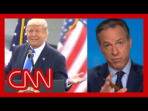 Jake Tapper issues warning before playing Trump rally remark