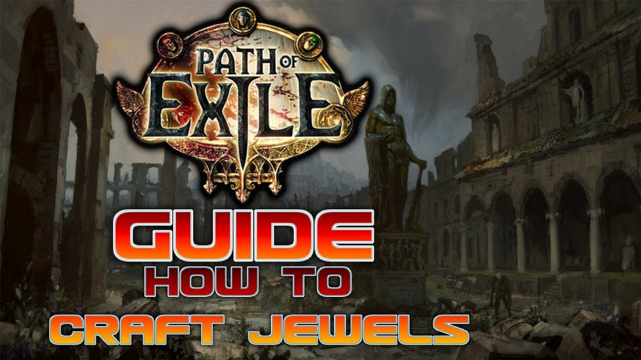Path of Exile 3 0 - How to craft jewels and make profit [ Guide ]