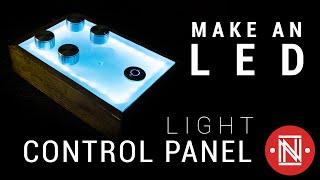 Room Lighting Control Panel || How-to
