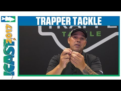 Trapper Tackle Standard, X-Heavy, & XXX-Heavy Offset Wide Gap Hooks with Vince Hurtado   ICAST 2017