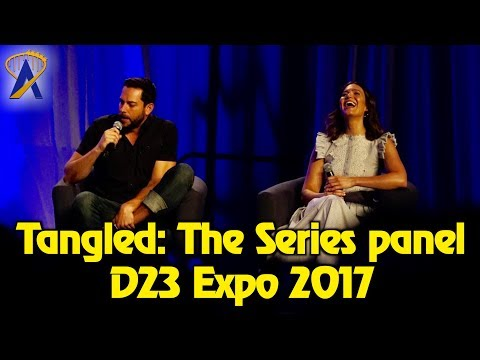 Tangled: The Series - Full Panel at D23 Expo 2017