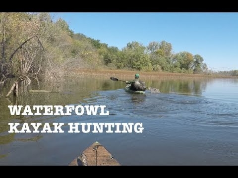 Chasse en kayak - USA MN September 2017 - Waterfowl Kayak Hunting
