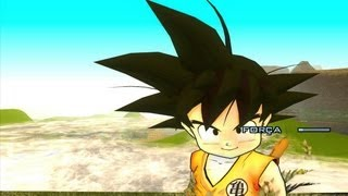GTA SA EVOLUTION DOWNLOAD SKIN GOKU CRIANÇA (KAKAROTO KID) FULL HD 1080