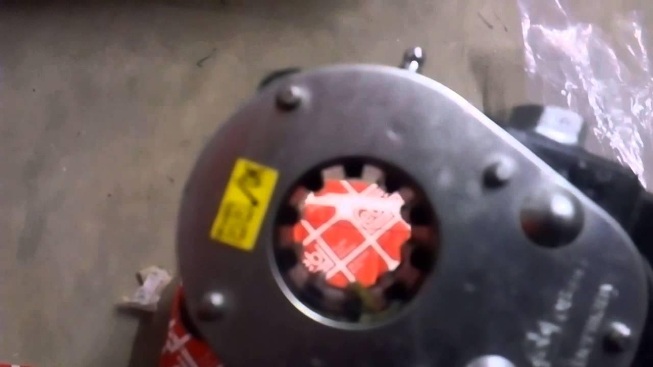Трещетки передние левая и правая daf xf95 механическая