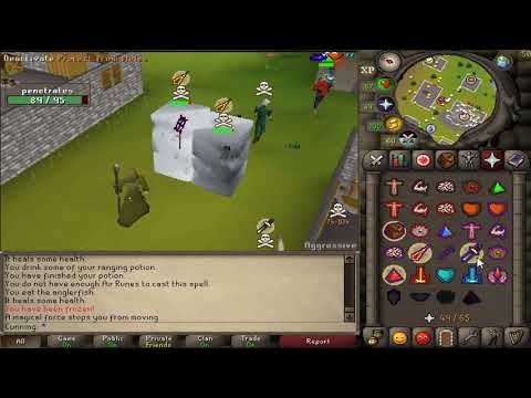 C0ld World High Risk Pure NH 8.5 - OldSchool Runescape