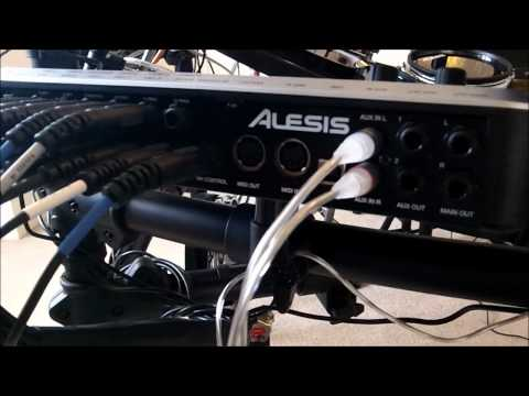 Alesis DM10 Studio Kit review/tour - pad noise demo and kit samples in HD!