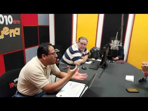 Entrevista de radio en Puebla