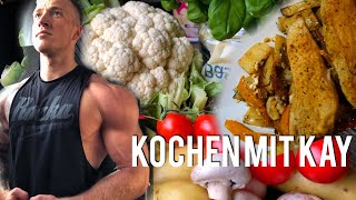 KOCHEN mit KAY - kalorienarm, fitnessgerecht, lecker! - Schmale Schulter