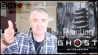 Ghost Of Tsushima - E3 - Trailer Reaction