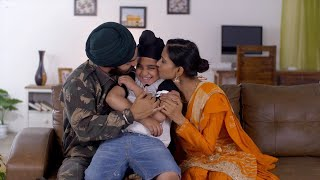 Happy Indian Sikh family spending quality time together - lifestyle families