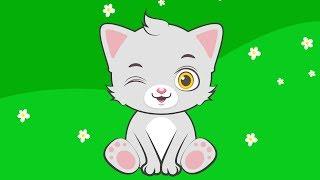 Мультик для Детей про Домашних Животных - Кошку. Развивающий Мультфильм для Малышей. Видео для Детей