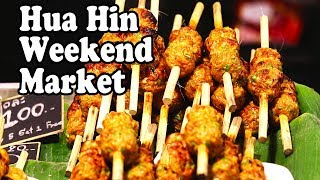 Hua Hin Night Market Tour – Thai Street Food & Shopping at Hua Hin
