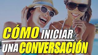 Cómo iniciar una conversación en inglés!