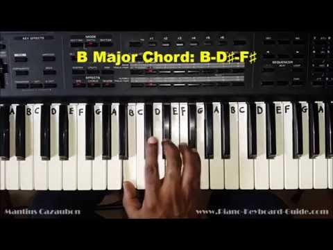 B Piano Chord Worshipchords