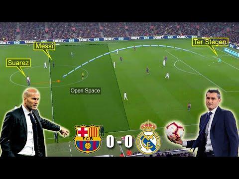 Fc Barcelona Vs Real Madrid 5-0 Lineups