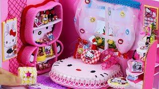 DIY Miniature Dollhouse ~ Hello Kitty Room Decor #39