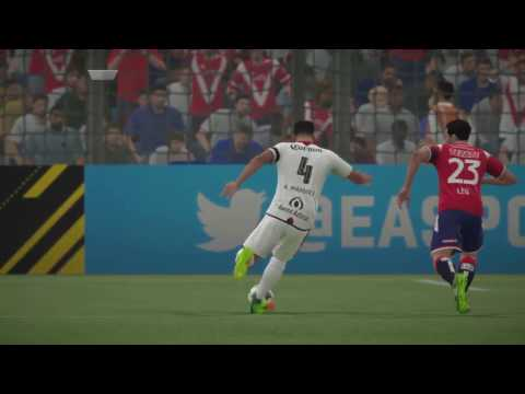 FIFA 17 (PS4) | Liga Mexicana MX - Veracruz vs Atlas | Full Match  Spanish Commentary