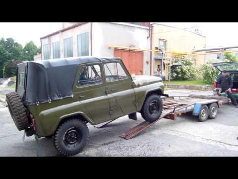 UAZ 469 - jak se k nám dostal :-)
