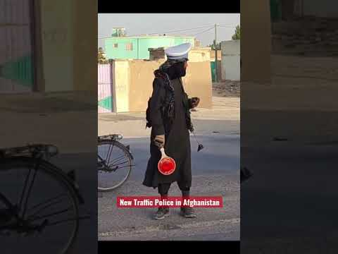 Afghanistan New traffic Police #kabul #Afghanistan #shorts