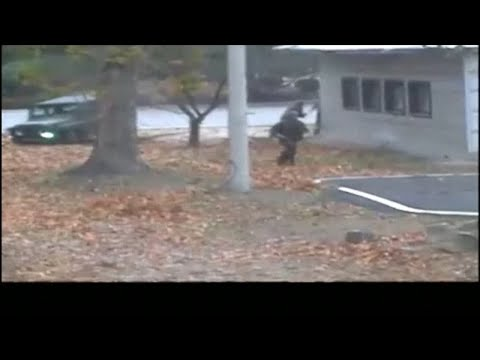 Defection of North Korean soldier caught on dramatic video
