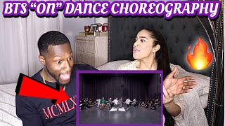 [CHOREOGRAPHY] BTS (방탄소년단) 'ON' Dance Practice|REACTION!?MIN…