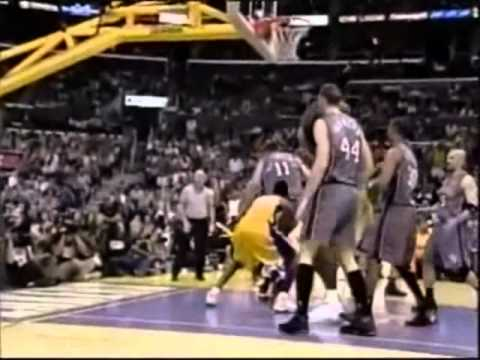 meet 8f68f 6a283 Kobe Bryant Posterizes Todd MacCulloch (Game 1 - 2002 NBA Finals vs. New  Jersey Nets)