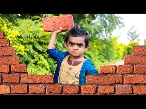 छोटू आज दीवार तोड़ देगा | CHOTU DEEWAR TOD DEGA | Khandesh Hindi Comedy | Chotu Dada Comedy Video