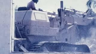 Demolition de l'ancienne Mairie de Koumac 1973