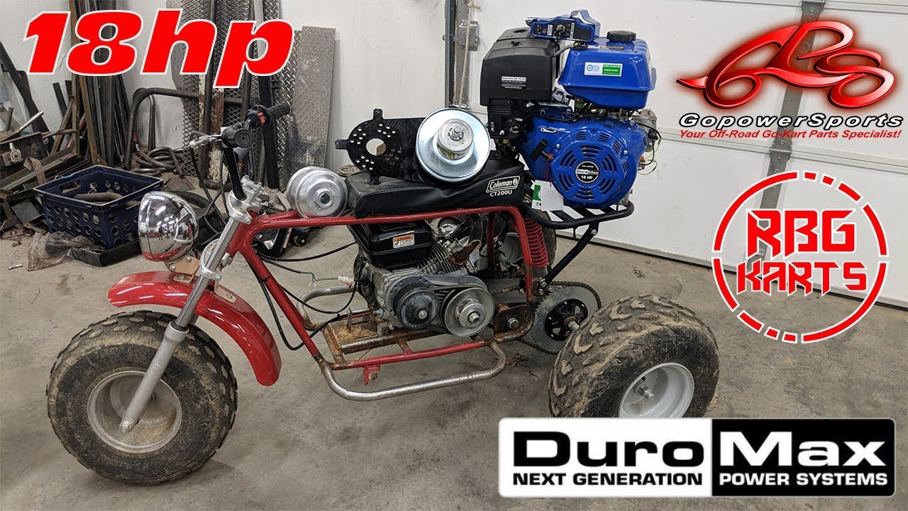 Mini Trike 440cc Engine Upgrade