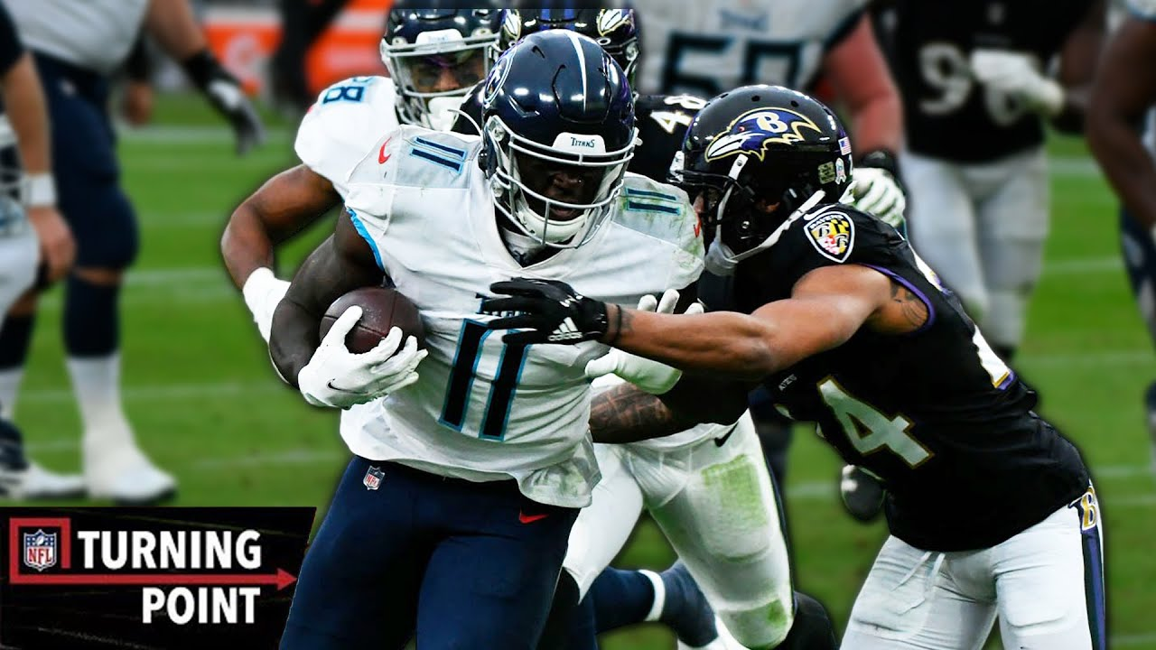How A.J. Brown Disrespected the Ravens in Week 11   NFL Turning Point