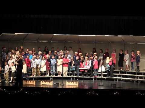 Ewalt Elementary School 2nd-5th Grade Music Program part 1 Winter 2016