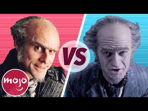 A Series of Unfortunate Events: Movie VS TV Series