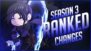 Apex Legends - *NEW* Season 3 RANKED Changes! Scoring System, Leaderboards, Assist Points!