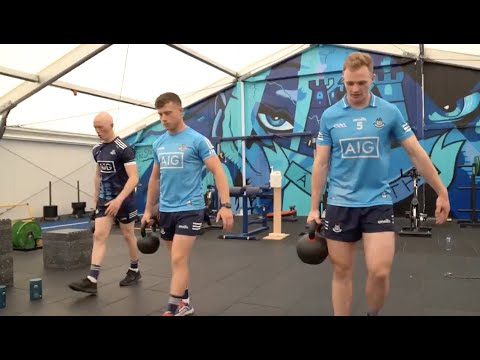 Our Senior Hurlers hit the gym with Kinetica!