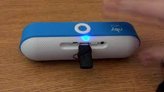 распаковка колонка NBY-18 Мини Bluetooth с AliExpress динамик портативный маленький, но мощный