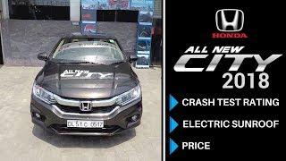 Honda City | 2018 | Crash Test Safety Rating | Car Review- Hindi | Ujjwal Saxena