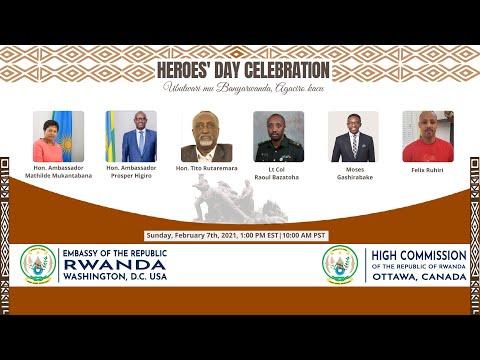 Rwanda Heroes' Day Celebration -
