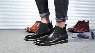 Men's Boots in Large Shoe Sizes